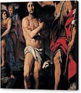 Crespi Daniele, The Baptism Of Christ Canvas Print