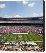 Crimson Tide A-day Football Game At University Of Alabama  Canvas Print by Carol M Highsmith