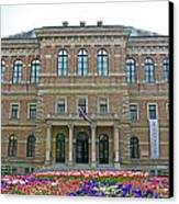 Croatian Academy Of Sciences And Arts  Canvas Print by Borislav Marinic