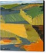 Crop Fields Canvas Print by Erin Fickert-Rowland