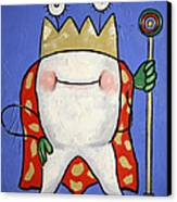 Crowned Tooth Canvas Print by Anthony Falbo