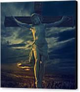 Crucifixcion Canvas Print