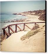 Crystal Cove Overlook Picture Canvas Print by Paul Velgos