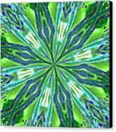 Crystal Ocean Canvas Print by Donna Blackhall