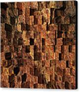 Cubed Canvas Print