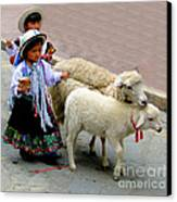 Cuenca Kids 233 Canvas Print