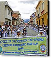 Cuenca Kids 326 Canvas Print by Al Bourassa