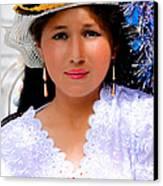 Cuenca Kids 491 Canvas Print