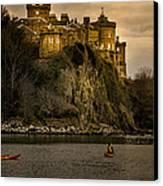 Culzean Castle Scotland Canvas Print by Alex Saunders