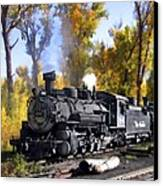 Cumbres And Toltec Railroad Canvas Print