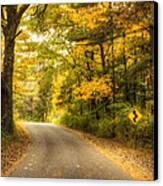 Curves Ahead Canvas Print by Scott Norris