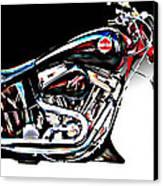 Custom Bike Study 1 Canvas Print