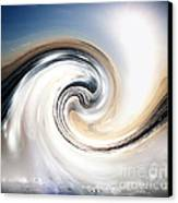 Custom Chrome Wave Canvas Print by Jeffery Fagan