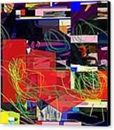 Daas 2 Daas 6a Canvas Print by David Baruch Wolk