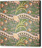 Daffodil Chintz Canvas Print