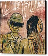 Daft Punk  Canvas Print by Jackson