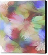 Daisy Floral Abstract Canvas Print