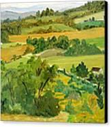 Daisy Hollow Dryden New York Canvas Print