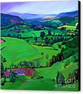Dales Patchwork Canvas Print by Neil McBride