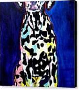 Dalmatian - Polka Dots Canvas Print