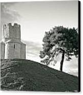 Dalmatian Stone Church On The Hill Canvas Print by Brch Photography