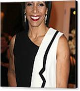 Dame Kelly Holmes 2 Canvas Print by Jez C Self