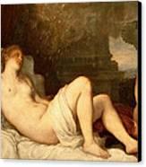 Danae Canvas Print by Titian