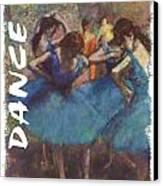 Dance By Degas Canvas Print