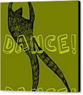 Dance Dance Dance Canvas Print by Michelle Calkins
