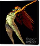 Dance Free Canvas Print by Artist and Photographer Laura Wrede