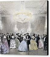 Dance Hall Of Mr. Laborde. Litography Canvas Print by Everett