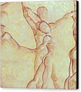 Dancers - 10 Canvas Print
