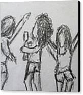 Dancing Children Canvas Print by Steve Jorde