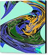 Dancing Goose Canvas Print