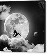 Dancing In The Moonlight Canvas Print by Alex Hardie