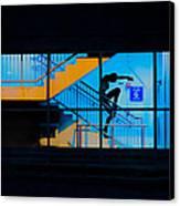 Dancing To Floor G Night People Canvas Print