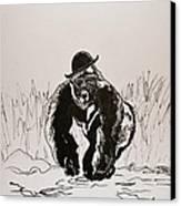 Dapper Canvas Print by Beverley Harper Tinsley