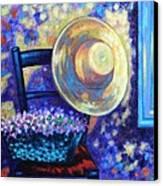 Dappled Suntrap  Canvas Print by John  Nolan