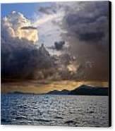 Dark And Stormy Canvas Print by    Michael Glenn