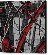 Dark Branches Canvas Print