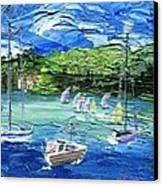 Darling Harbor II Canvas Print