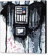 Darth Vader Canvas Print by David Kraig