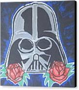 Darth Vader Tattoo Art Canvas Print by Gary Niles
