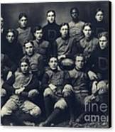 Dartmouth Football Team 1901 Canvas Print by Edward Fielding