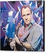 Dave Matthews And 2007 Lights Canvas Print