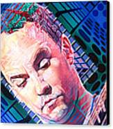 Dave Matthews Open Up My Head Canvas Print by Joshua Morton