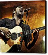 Dave Matthews Scream Canvas Print