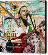 Dave Matthews Shotgun Canvas Print by Joshua Morton