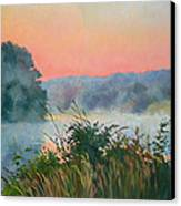 Dawn Reflection Canvas Print