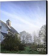 Day Break At The Farm Canvas Print by Alana Ranney